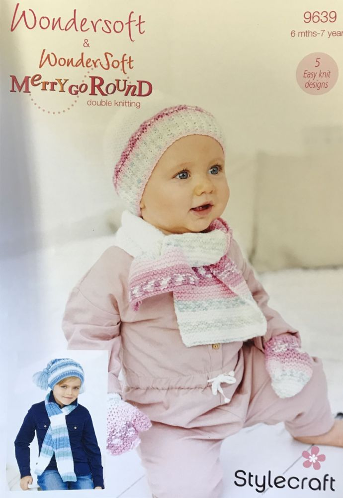 Wondersoft DK Prints and Merry Go Round Pattern 9639